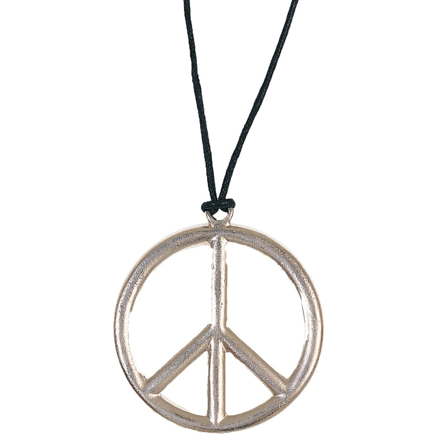 Peace Pendant Metal - 60s - 70s Costume Fashion Jewelry Halloween costumes