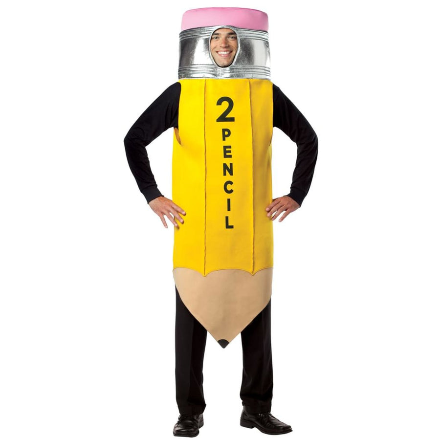Pencil #2 Adult Costume - adult halloween costumes Funny Costume halloween