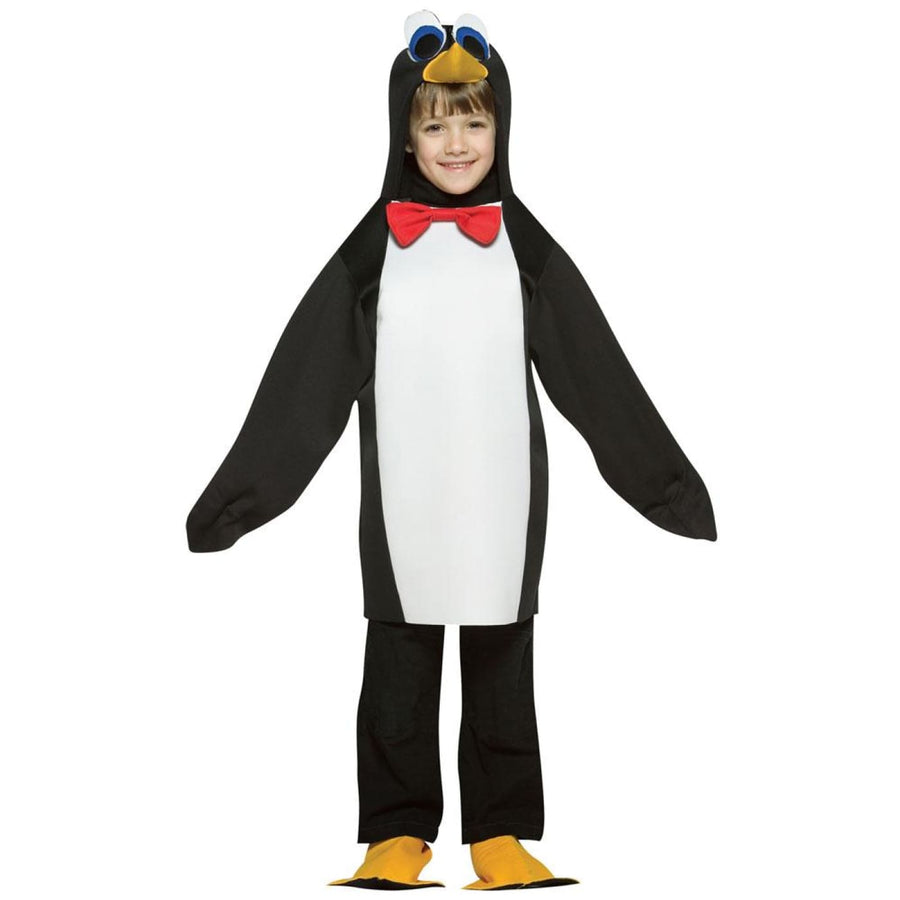 Penguin Kids Costume Small 4-6 - Animal & Insect Costume Boys Costumes Girls