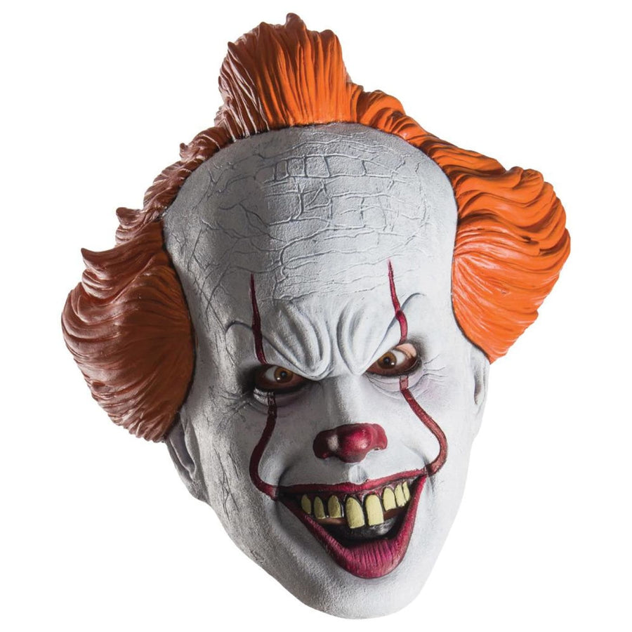 Pennywise It Movie 3 Qtr Mask - Costume Masks Halloween costumes Halloween Mask