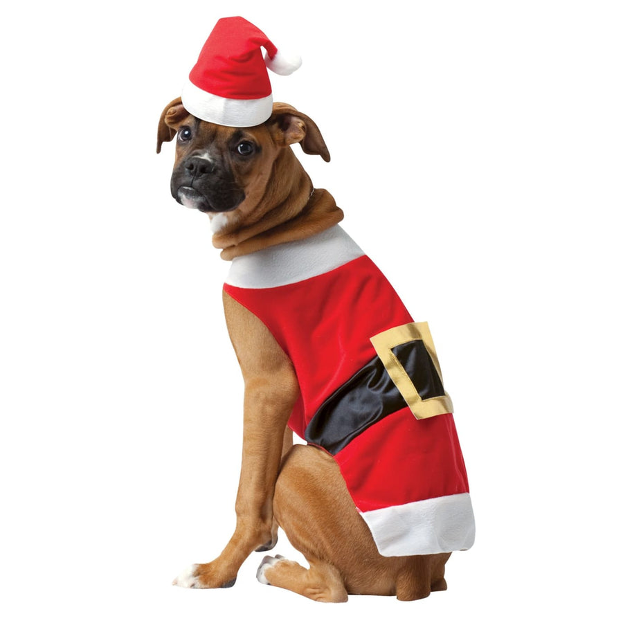 Pet Costume Santa Xl - Dog Costume dog costumes Dog Halloween Costume Halloween
