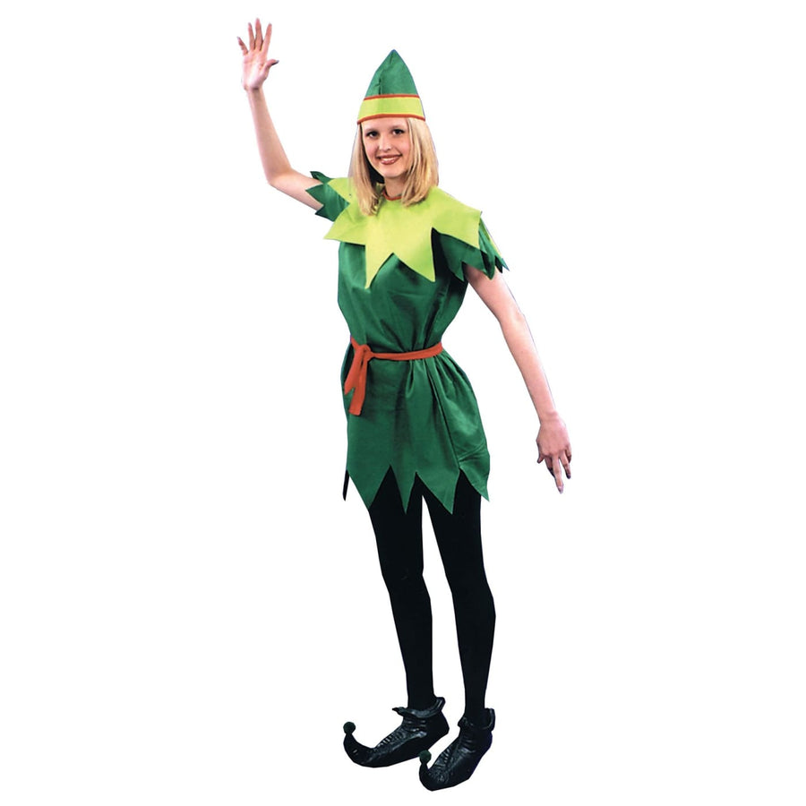Peter Pan Lady 1 Sz - adult halloween costumes Fairytale Costume female