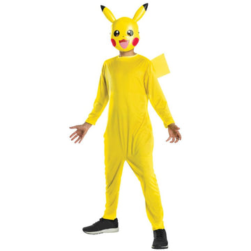 Pikachu Boys Costume Medium - Boys Costumes New Costume