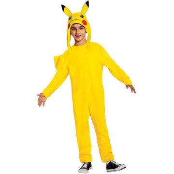 Pikachu Deluxe Boys Costume 7-8 - Boys Costumes New Costume
