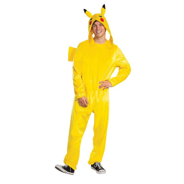 Pikachu Mens Costume Deluxe - Mens Costumes New Costume