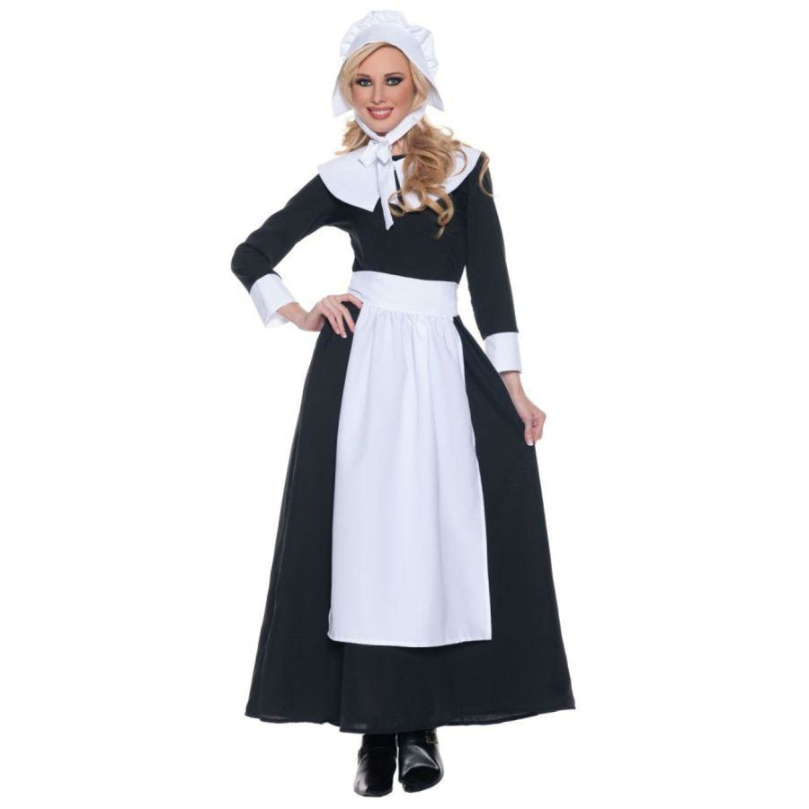 Pilgrim Woman Lg - adult halloween costumes female Halloween costumes Halloween