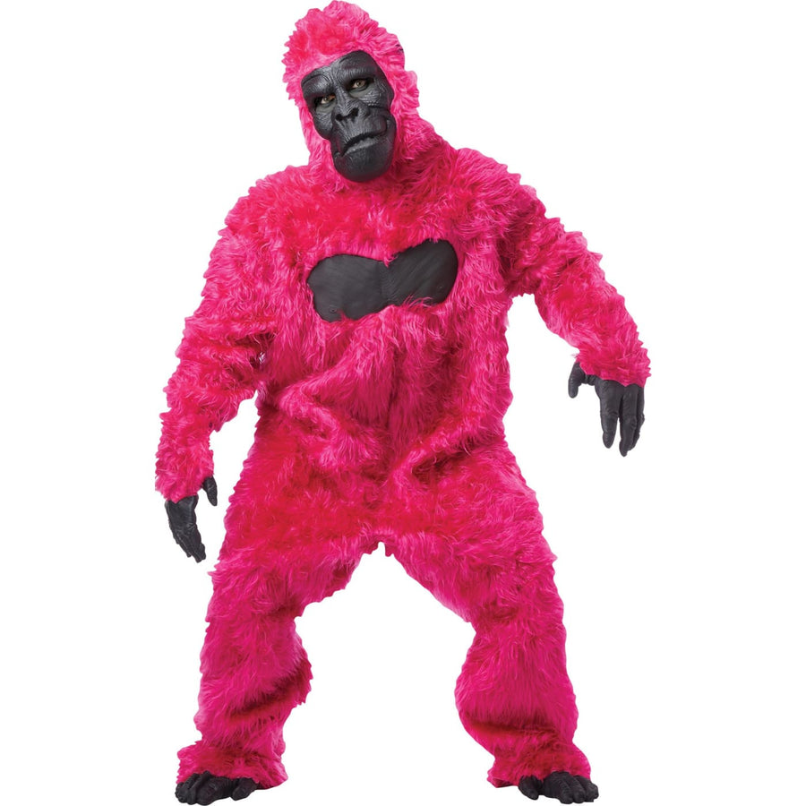 Pink Gorilla Adult Costume - Animal & Insect Costume Halloween costumes