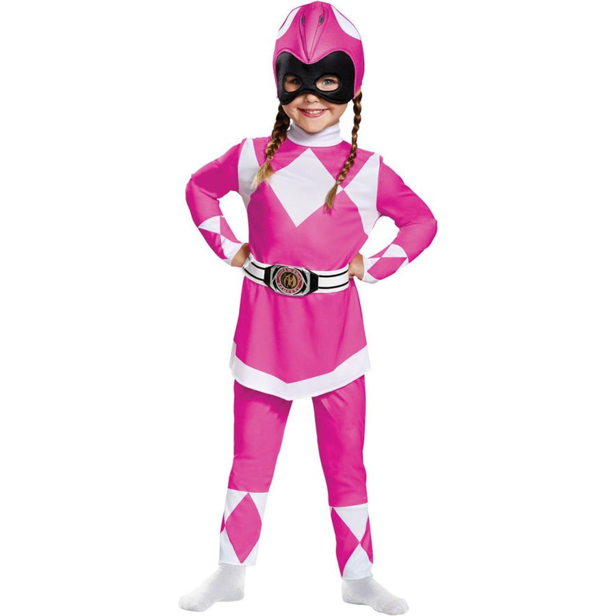 Pink Power Ranger Toddler Costume 12-18 - Halloween costumes New Costume Pink