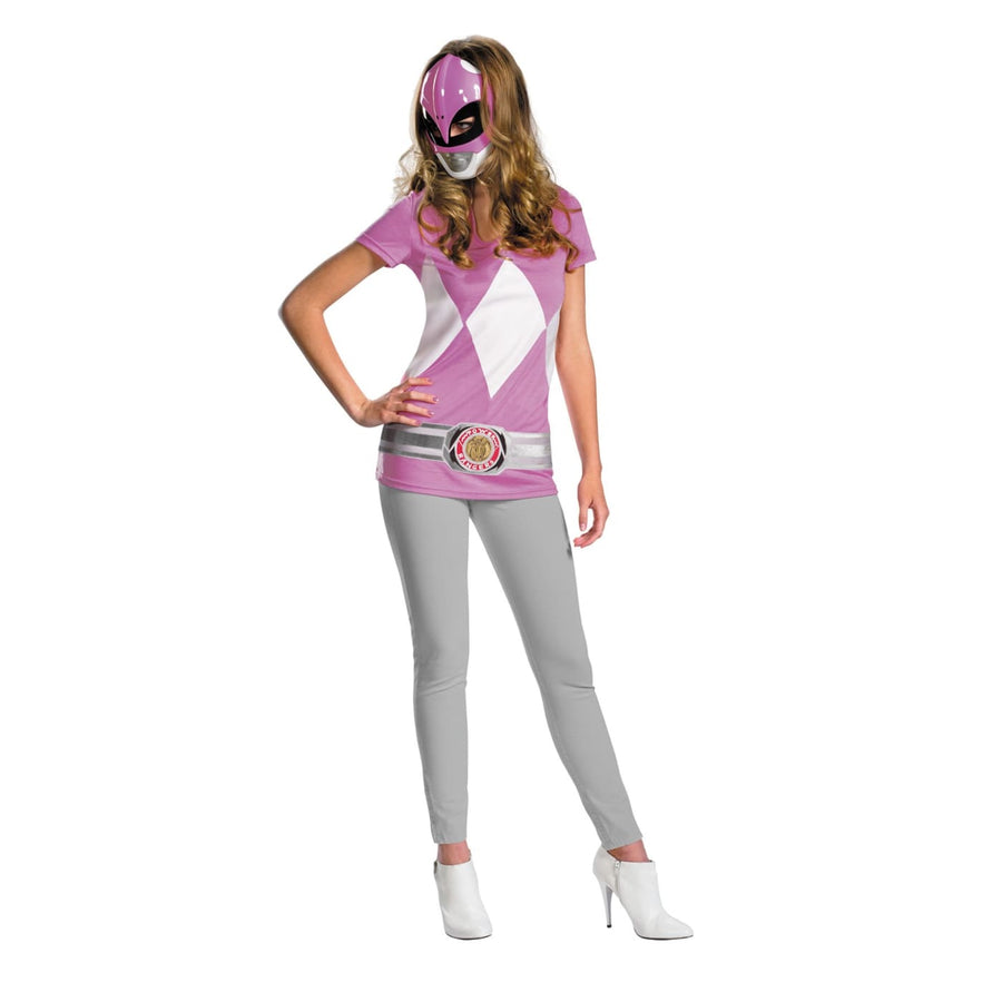 Pink Ranger Alternative Tn 7-9 - adult halloween costumes female Halloween