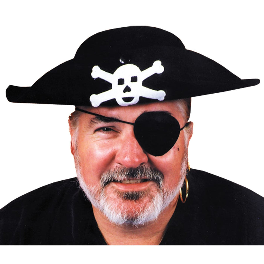 Pirate Hat Quality Lg - Halloween costumes Hats Tiaras & Headgear Pirate Costume