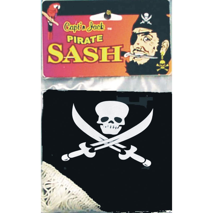 Pirate Jack Waist Sash - Halloween costumes Miscellaneous Accessories pirate