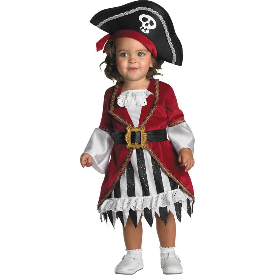 Pirate Princess Toddler Costume 12-18 Months - Halloween costumes pirate costume