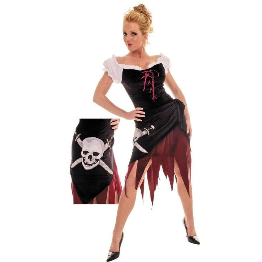 Pirate Wench Sz Sm - adult halloween costumes female Halloween costumes