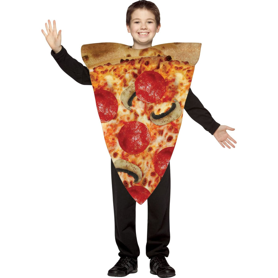 Pizza Slice Boys Costume 7-10 - Food & Drink Costume Halloween costumes Hats