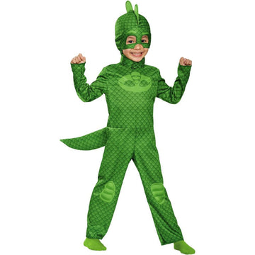 PJ Masks Gekko Classic Toddler Costume 2T - Halloween costumes JP Masks Toddler