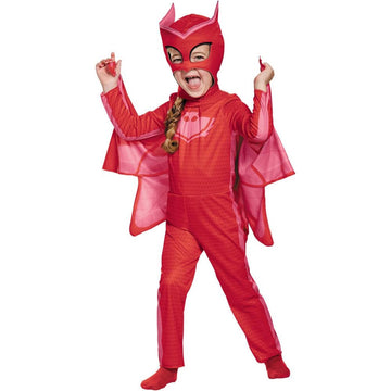 Pj Masks Owlette Classic Toddler Costume 2T - Halloween costumes New Costume Pj