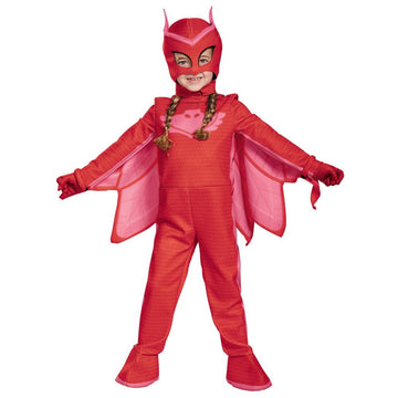 Pj Masks Owlette Deluxe Girls Costume 4-6 - Girls Costumes Halloween costumes