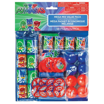 Pj Masks Party Favors Pack - Birthday Party Decorations Birthday Party Plates