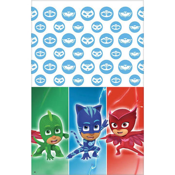 Pj Masks Party Table Cover - Birthday Party Decorations Birthday Party Plates