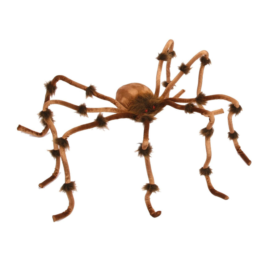 Plush 50In Spider Brown - Decorations & Props Halloween costumes haunted house