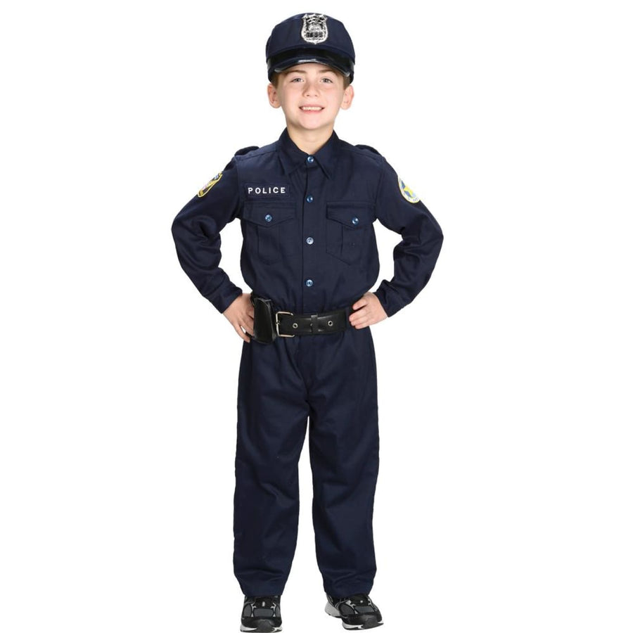 Police Officer Child Costume 4-6 - Halloween costumes Police Officer Child