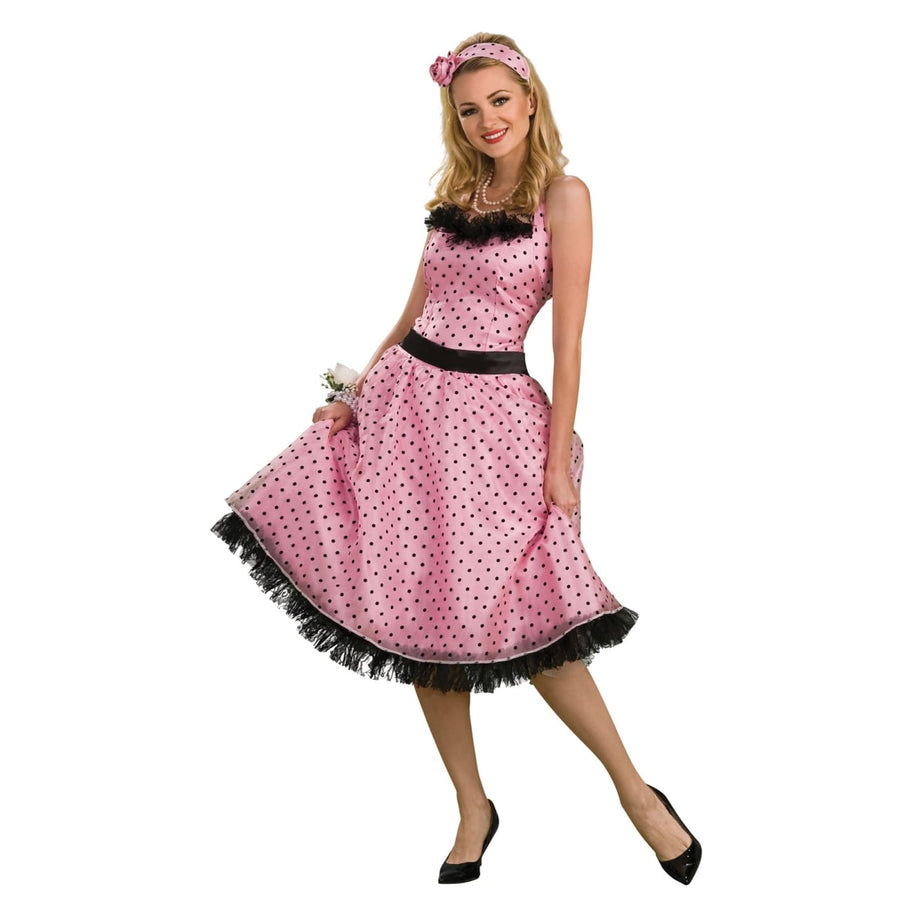 Polka Dot Prom Adult Md - 20s - 40s Costume adult halloween costumes female