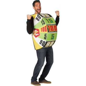 Price Is Right The Big Wheel Adult Costume - adult halloween costumes Halloween