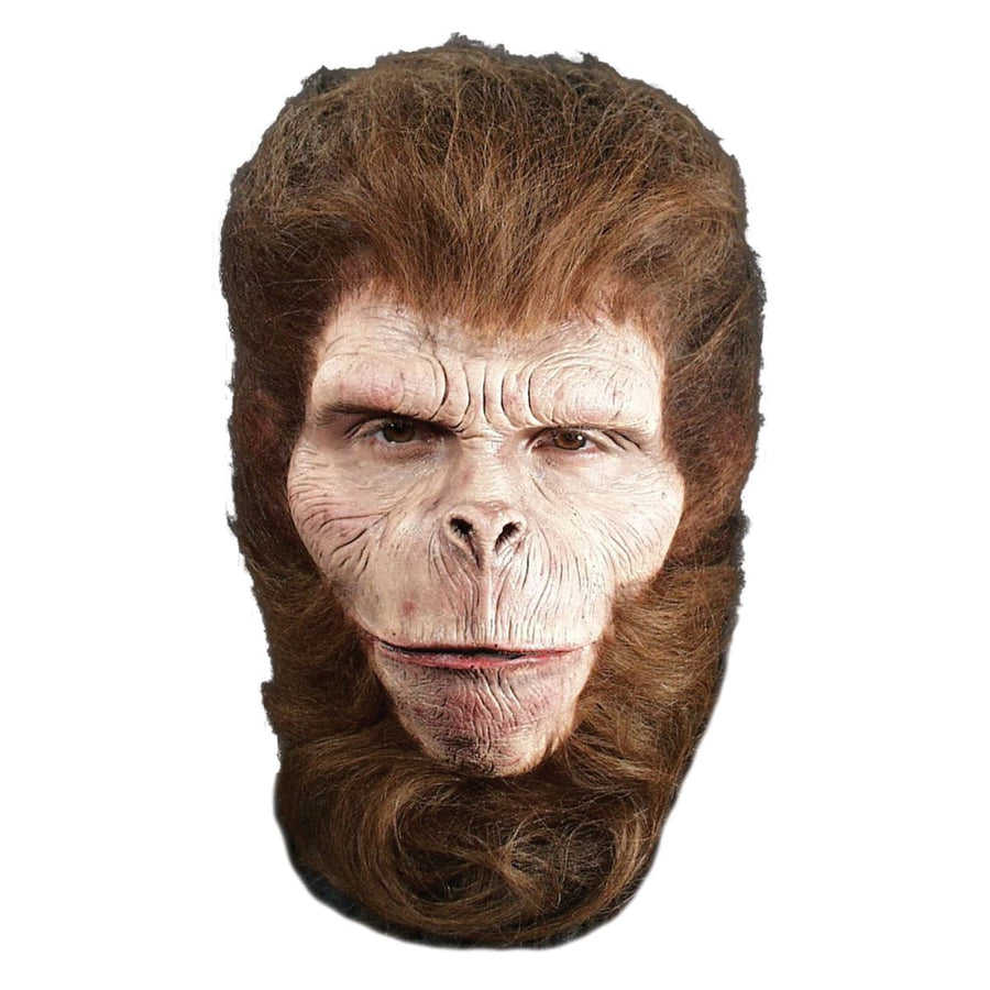 Prosthetic Chimp Full Face - Animal & Insect Costume Costume Makeup Halloween