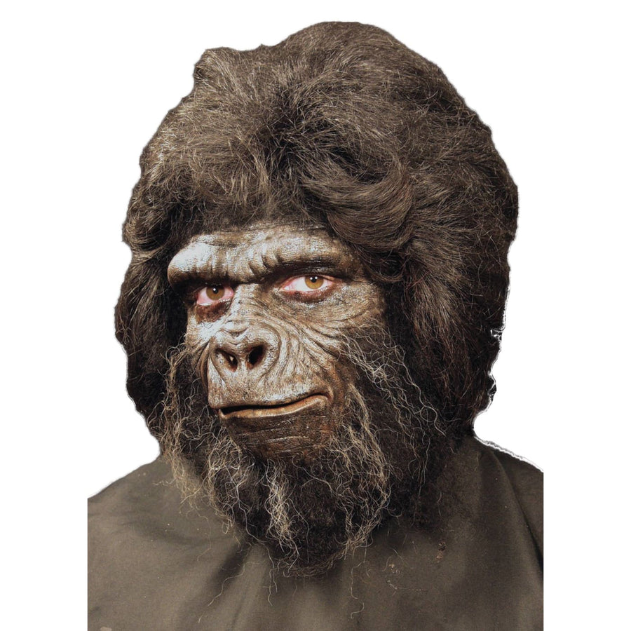 Prosthetic Gorilla Full Face - Animal & Insect Costume Costume Makeup Halloween