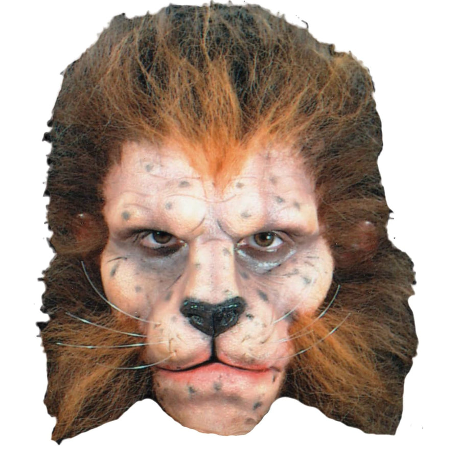 Prosthetic Lion Full Face - Animal & Insect Costume Costume Makeup Halloween