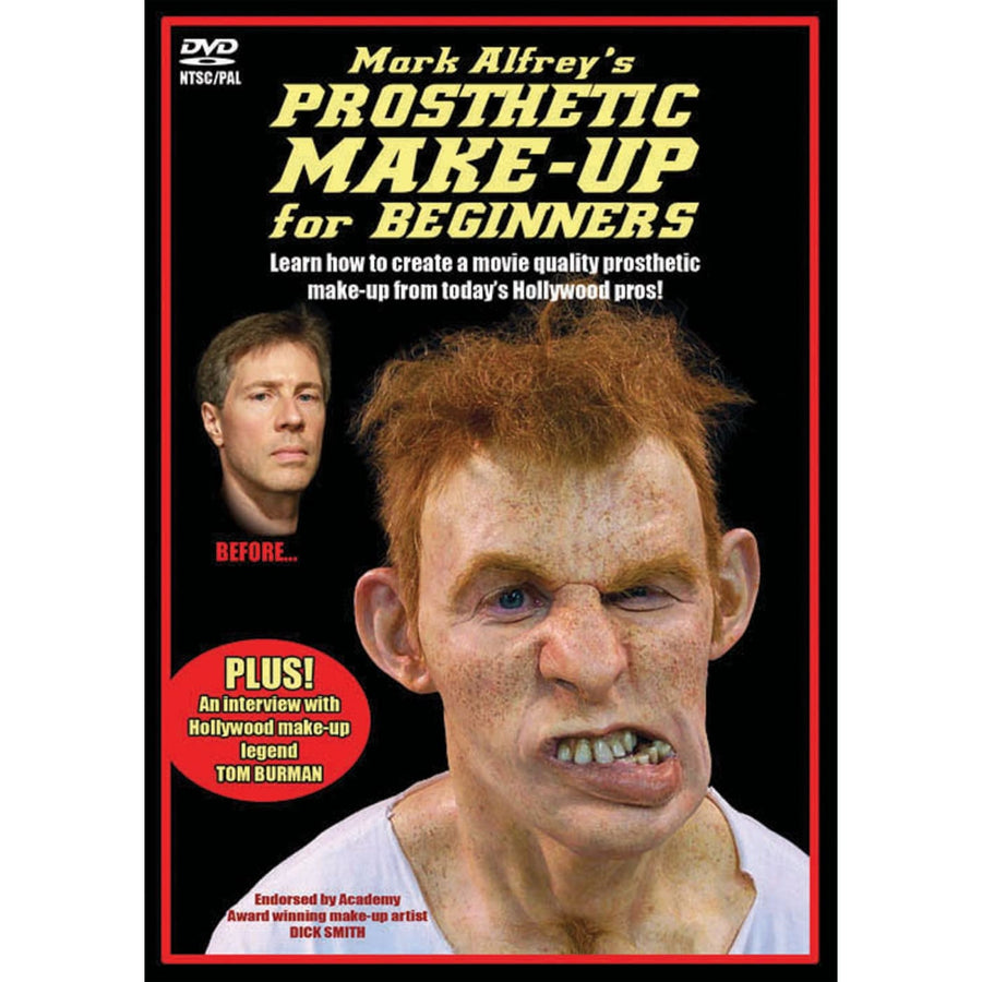 Prosthetic Makeup For Beginners DVD - Costume Makeup Halloween costumes