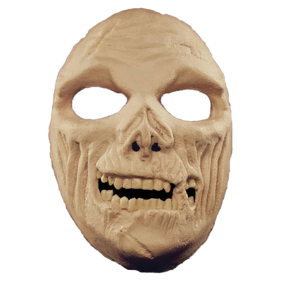 Prosthetic Zombie Full Face Mask - Costume Masks Ghoul Skeleton & Zombie Costume