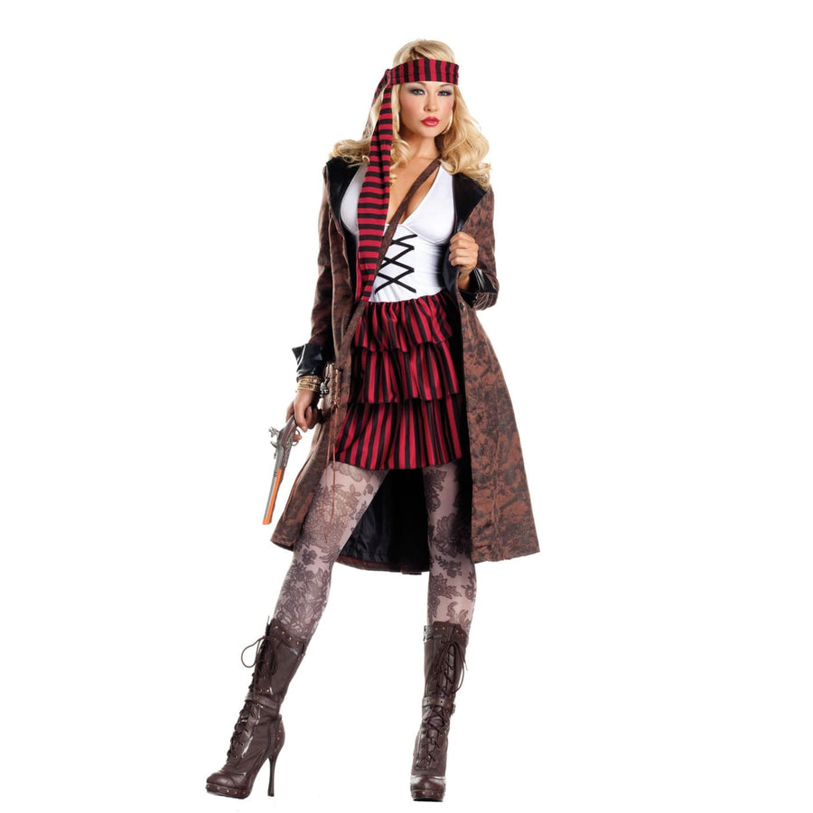 Provocative Pirate Adult Costume Xlarge - adult halloween costumes female