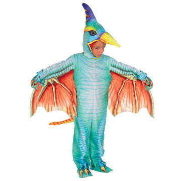 Pterodactyl Green Boys Costume 4-6 - Boys Costumes New Costume