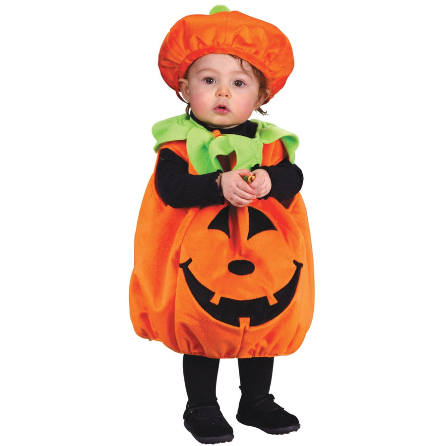 Pumpkin Plush Toddler Costume To 24 Months - Food & Drink Costume Halloween