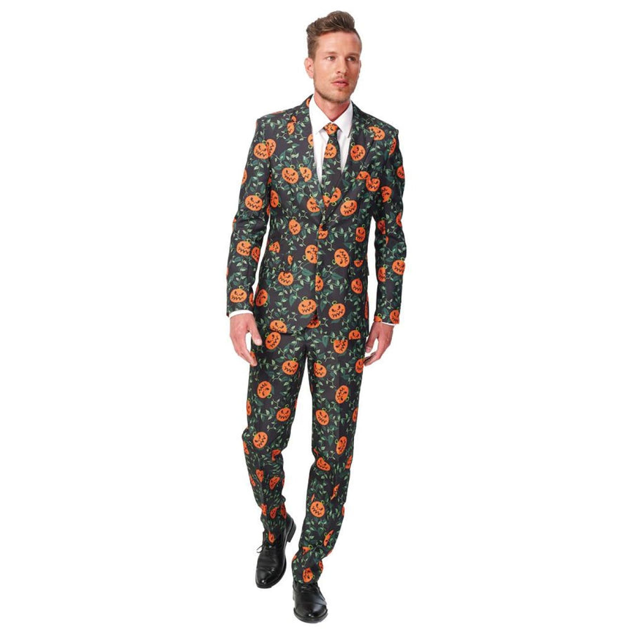 Pumpkin Suit Mens Costume Xl 46-48 - adult halloween costumes halloween costumes