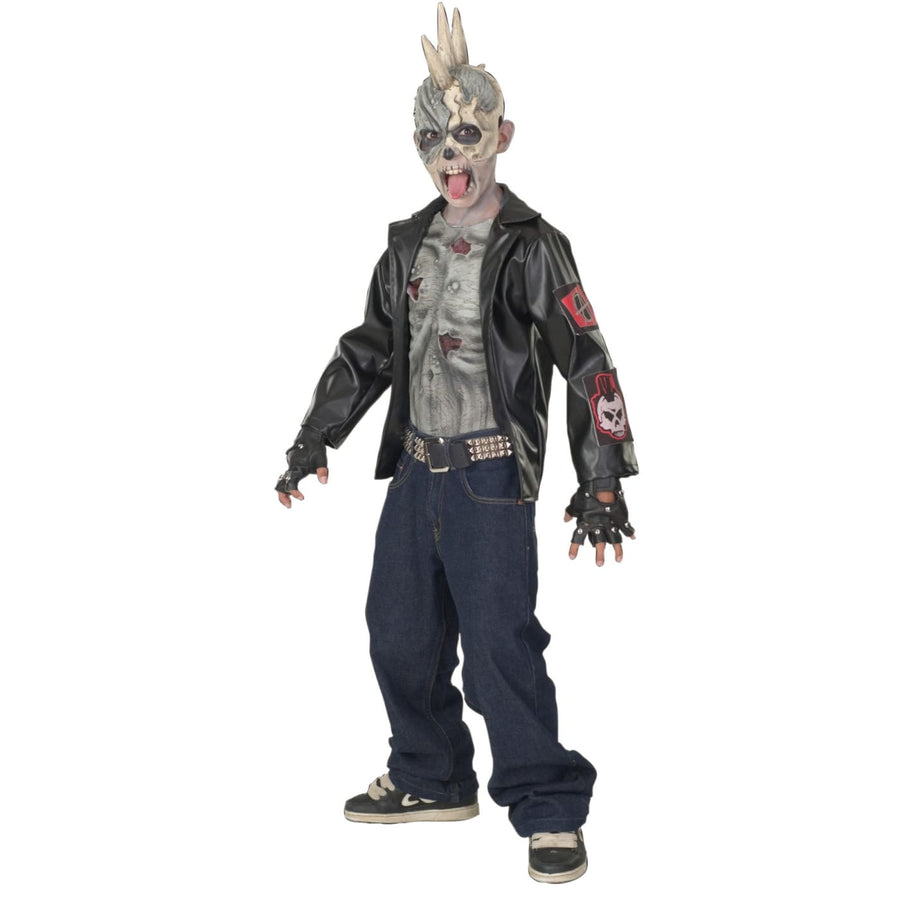 Punk Zombie Boys Costume Lg - Boys Costumes boys Halloween costume Ghoul