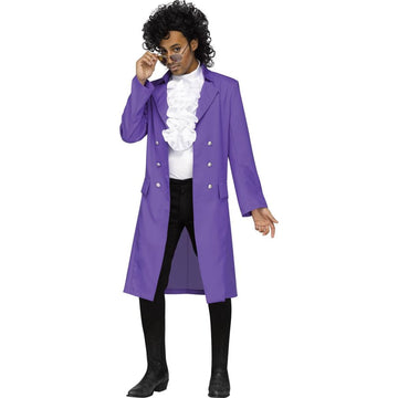 Purple Pain Pop Adult Costume Standard Size - 80s Costume adult halloween