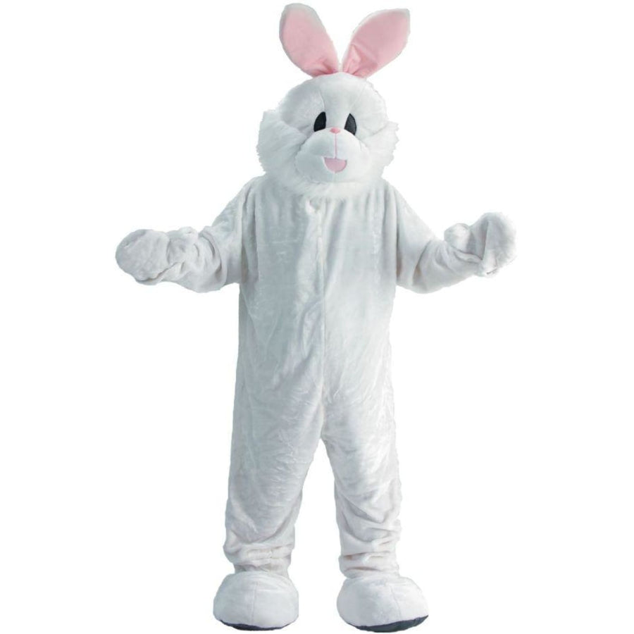 Rabbit Mascot Adult Costume - Holiday Costumes