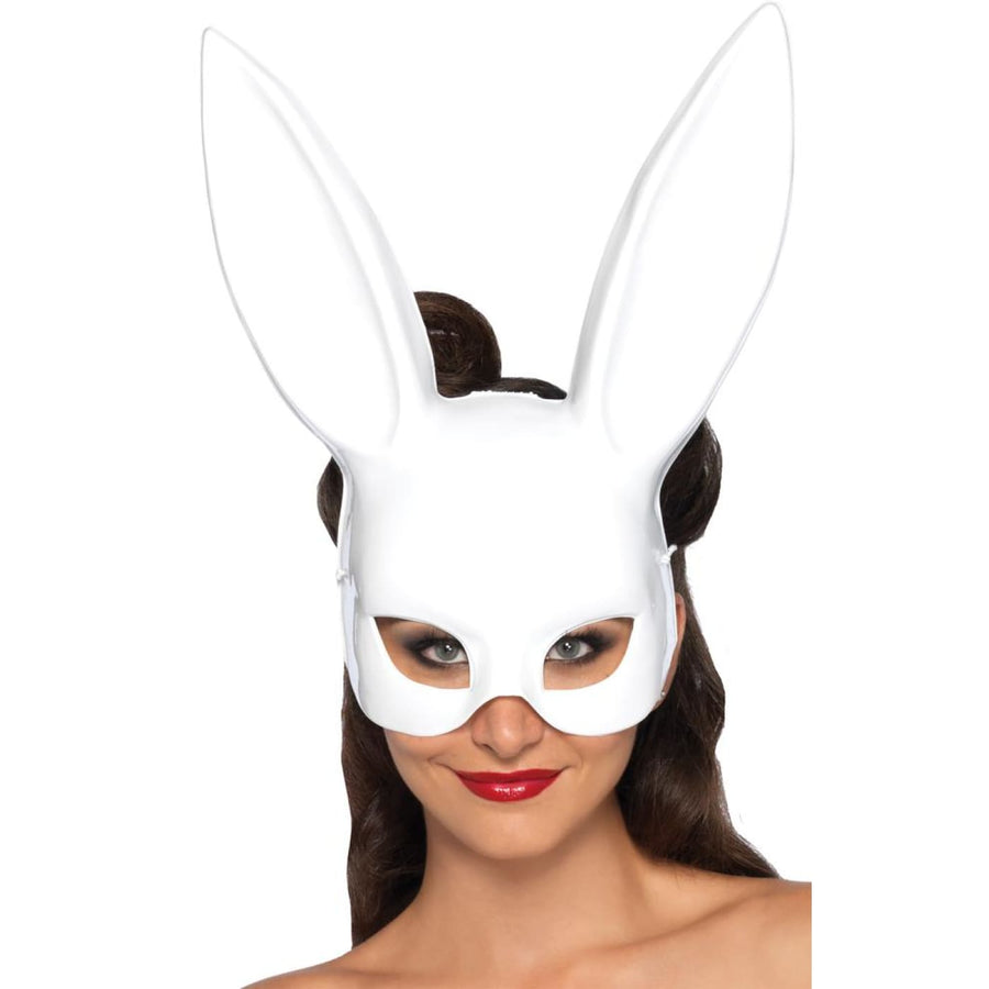 Rabbit White Costume Mask - Animal & Insect Costume Costume Masks Halloween