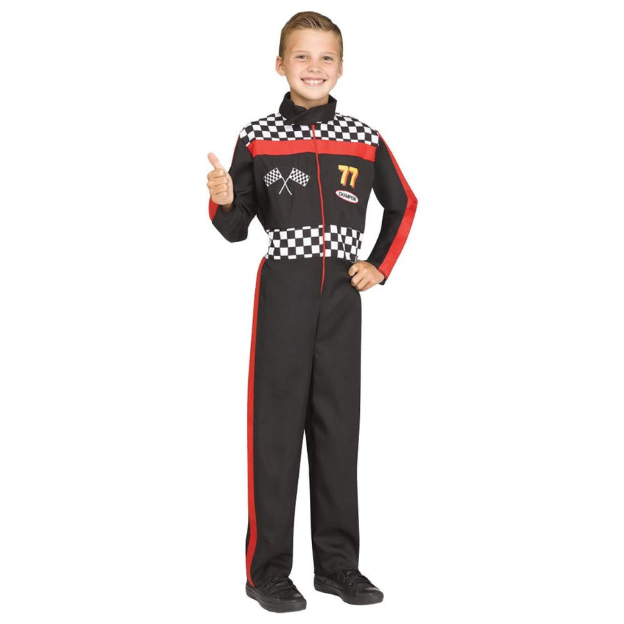 Race Car Driver Boys Costume Sm - Boys Costumes Halloween costumes New Costume