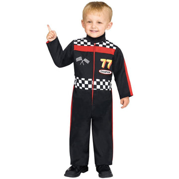 Race Car Driver Toddler Costume 3-4 - featured Halloween costumes New Costume