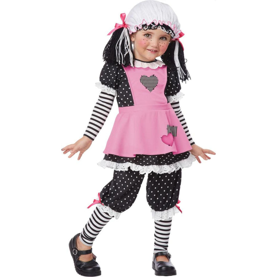 Rag Dolly Kids Costume Small 4-6 - Girls Costumes girls Halloween costume Gothic