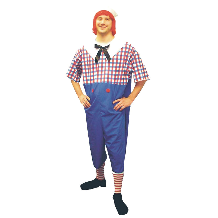 Raggedy Andy Plus Sz - adult halloween costumes halloween costumes male