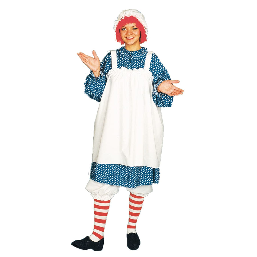 Raggedy Ann Adult - Clown & Mime Costume clown costumes Halloween costumes