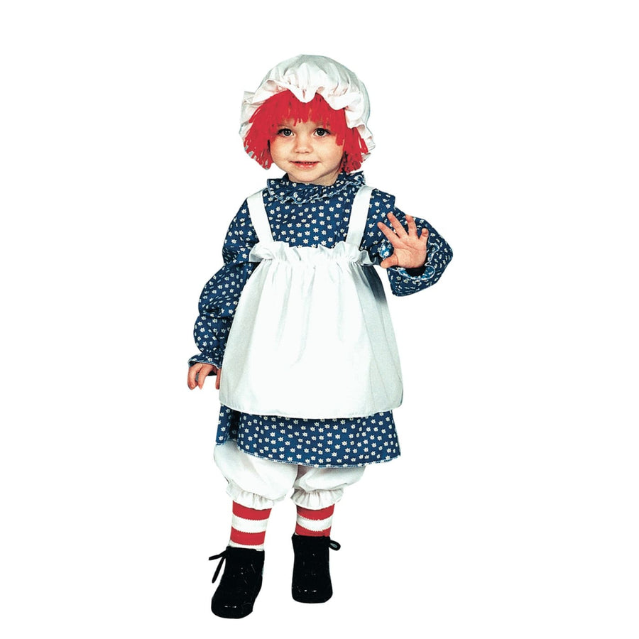 Raggedy Ann Toddler Costume 2 To 4 - Halloween costumes Toddler Costumes toddler