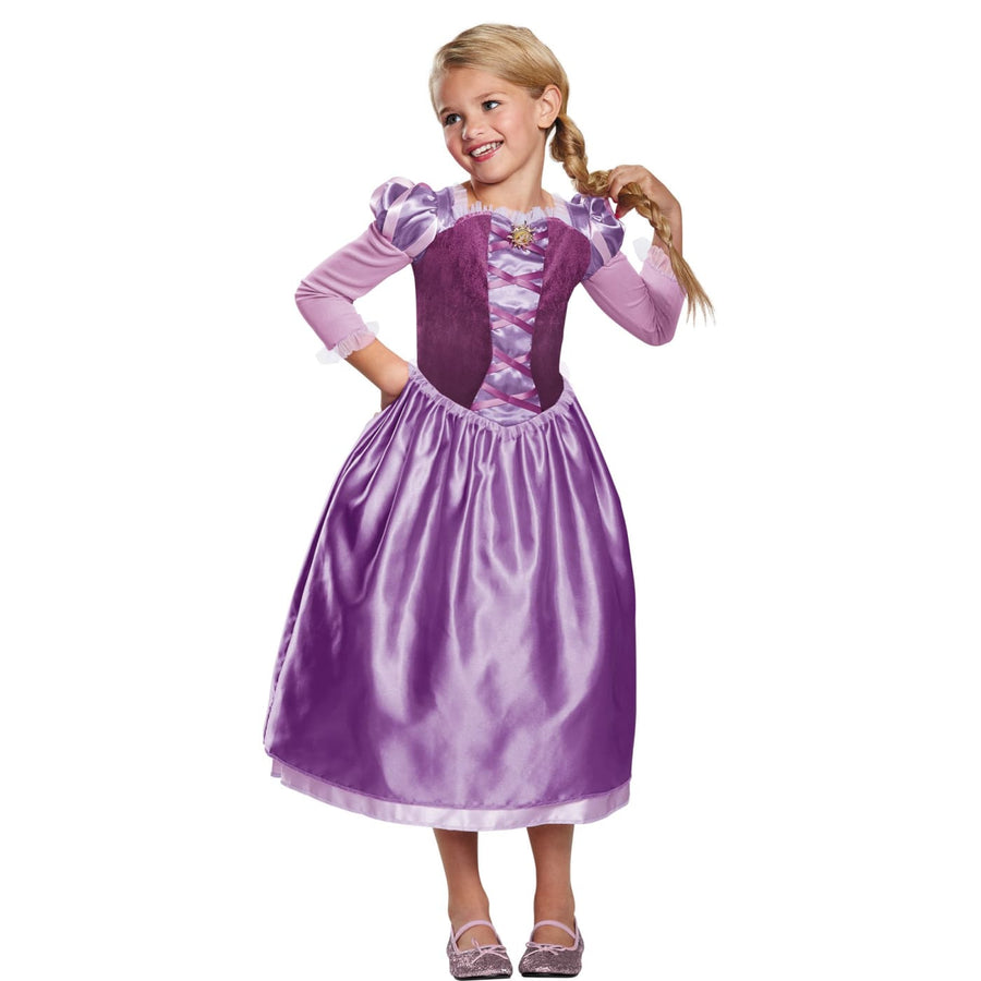 Rapunzel Day Dress Classic Toddler Costume 3T-4T - Halloween costumes Toddler