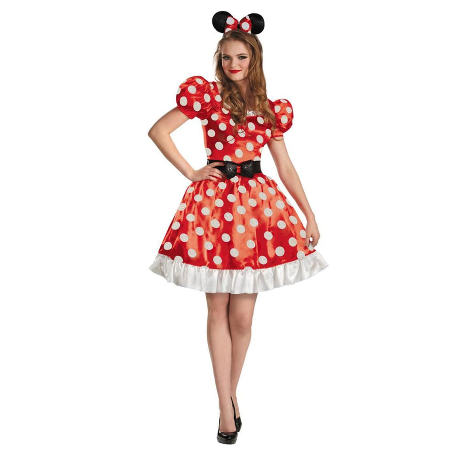 Red Minnie Classic Womens Costume 4-6 - adult halloween costumes Halloween