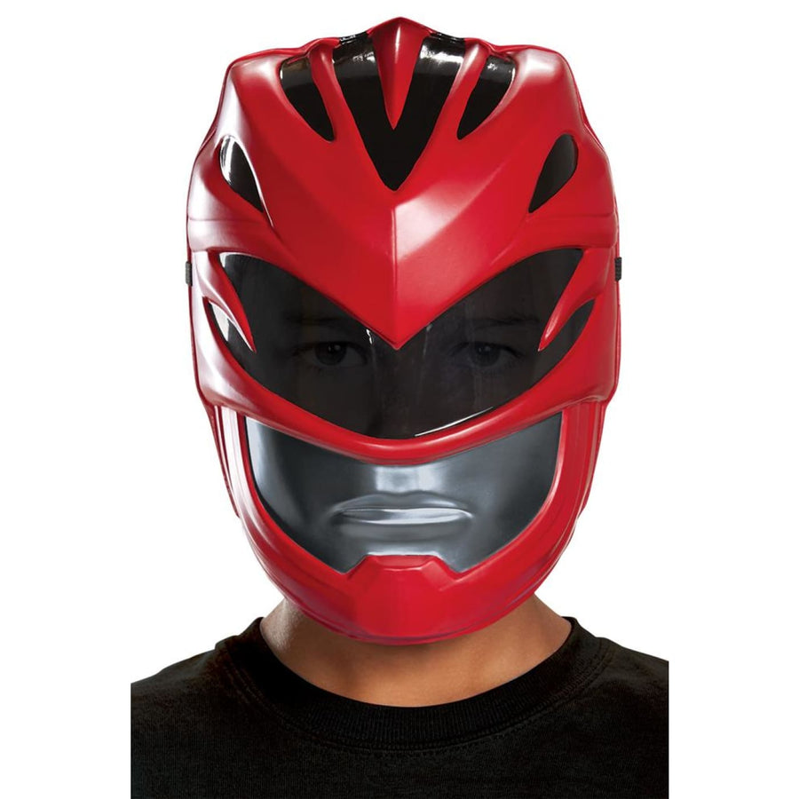 Red Power Ranger 2017 Vac Mask Child - Costume Masks Halloween costumes