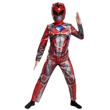 Red Ranger 2017 Classic Boys Costume Small 4-6 - Boys Costumes featured